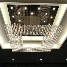 big crystal chandelier new square modern string big crystal chandeliers hotel lobby chandelier lighting chandelier for