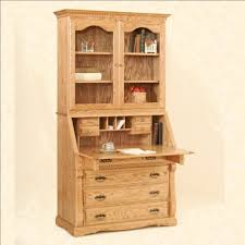 the typical of pine wood amusing brown pine wood secretary desk designed with shelf cabinet