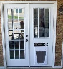 cat door for french door impressive french doors with pet door finer doors install cat door