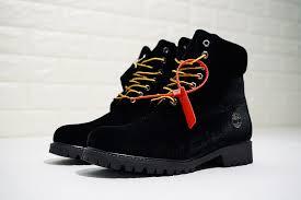 virgil abloh off white x timberland velvet hiking boots owia073e17478086 velvet mens womens waterproof chukka
