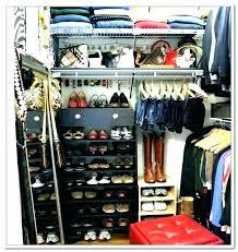 shoe storage small closet organizer ideas rack diy