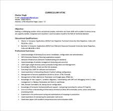 Red hat linux resume sample Computer Hardware And Networking Resume Format  Free Download Resume Format For