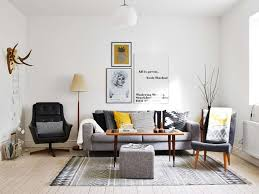 scandinavian furniture style. Decorations : Wonderful Scandinavian Style Interior Inspiration With Brown Textured Wood Floor And Rectangle Laminated Coffee Table Also Grey Furniture S