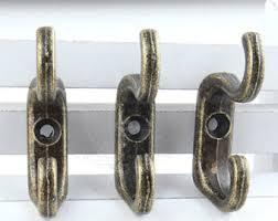 set of 5 hooks,key hooks,metal hooks,decorative hooks,furniture hook
