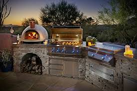 primavera 70 outdoor wood fired counter top pizza