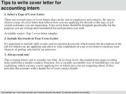 Cover Letters Internships How To Write Good Cover Letter For ...