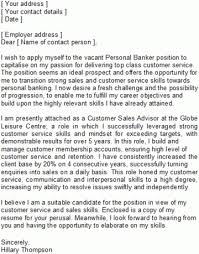 Career Change Covering Letter Sample With Regard To Cover Letter