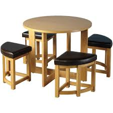 Sherwood Stowaway Dining Table Set With 4 Chairs Amazon Co Uk