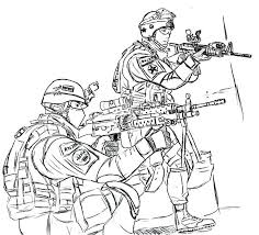 Military Gun Coloring Pages At Getdrawingscom Free For Personal