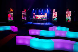 neon furniture. Sacred-heart-school-ball-led-furniture-range-curved- Neon Furniture S
