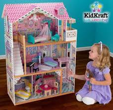 wooden barbie doll furniture. KidKraft Barbie Dollhouse With Furniture $100 Shipped Wooden Doll E
