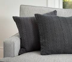 cable knit duvet cover