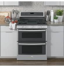 ge profile series 30 free standing gas double oven convection range
