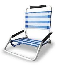 low profile folding chair