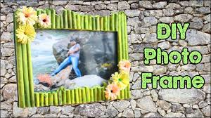 How To Make Photo Frame at Home , Handmade using Waste Material ...