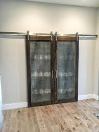 we ve built custom doors to include mirrors windows chalk boards or even slat style privacy doors that covered patio door