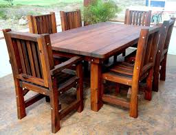 outdoor wood dining table. Wood Patio Furniture. Furniture E Outdoor Dining Table