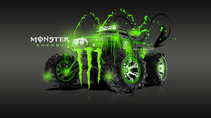 monster energy traxxas summit fantasy acid car