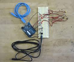representing audio through vibration arduino 7 steps