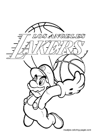 Polish your personal project or design with these lakers transparent png images, make it even more personalized and more attractive. Los Angeles Lakers Logo Coloring Pages Coloring Pics Coloring Home