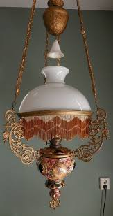 awesome hanging chandelier lamp victorian lamps antique victorian hanging oil lamp light