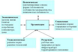 Организация как система Реферат Внешняя и внутренняя среды организации