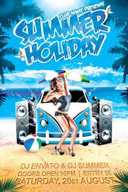 Free Summer Holiday Flyer Template Download Free Flyer For