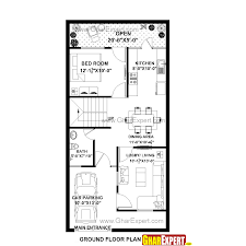 144 Square Feet House Plan For 22 Feet By 45 Feet Plot Plot Size 110 Square Yards