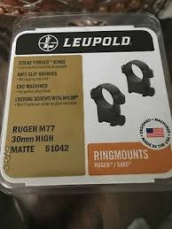 Ruger M77 Scope Ring Chart Scope Mounts Accessories Ruger M77