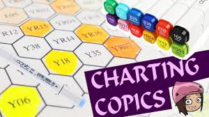 Copic Marker Charting Hex Chart My New Colors Nerdecrafter