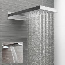 Stainless Steel 230x500mm Waterfall Shower Head