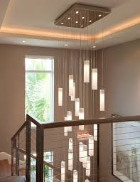 stairwell lighting. Tanzania Chandelier - Contemporary Living Room Stairwell Light Fixture Contemporary-staircase Lighting