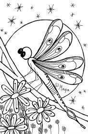 Kleurplaat Konijn En Libelle Mama Maai