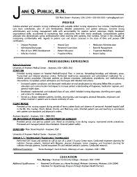 Registered Nurse Resume Samples Free