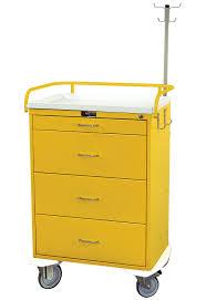Harloff <b>Classic Line</b> Infection <b>Control</b> Cart Four Drawer with Key ...