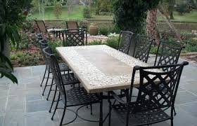 stone patio table. Round Patio Table And Chairs Ideas Medium Size Stone Tops Faux Top Replacement Dining Chairs. S