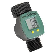 garden hose flow meter. Easy-to-Read LCD Water Meter Garden Hose Flow W