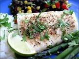 baked fish in a hurry