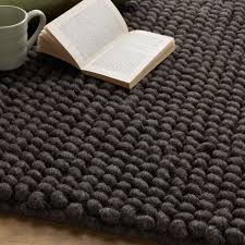 pure wool rug pebbles