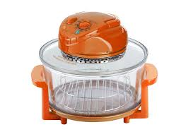 the heating chamber stands on the adequate stand which separates it from the counter top and reduces the