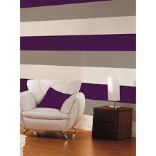 Purple Striped Wallpaper Designs Details About 3 Stripe Colour Textured Purple Coffee Cream