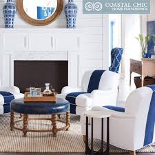 coastal chic furniture. Image May Contain: People Sitting, Living Room, Table And Indoor Coastal Chic Furniture