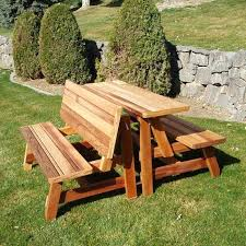 large picnic tables home and interior astonishing picnic tables with bench free table plans in all shapes large round picnic table plans unique