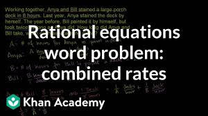 Problem Solving And Program Design In C 8th Edition Ebook Rational Equations Word Problem Combined Rates Example 2