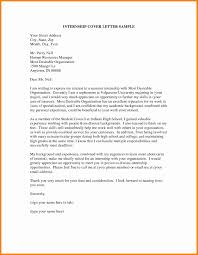 Internship Cover Letter Examples Internship Cover Letter Template Sample Examples For Internships 14