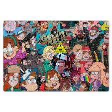 Пазл магнитный 18×27 см (126 элементов) Gravity Falls ...