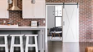 sacramento brick wall barn door sunburst is sacramento s home for stylish barn doors