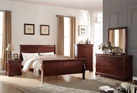 Louis Philippe Bedroom Furniture Acme 25510f Louis Philippe 4pcs Antique Gray Full Sleigh Bedroom Set