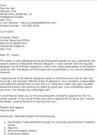 Designers Cover Letter Cover Letter Fashion Design Cover Letter For Fashion Design Job