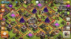 Novo Layout Cv9 5 Guerra War Base Town Hall 9 5 Video Dailymotion